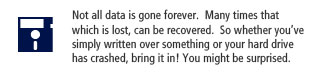 We do data recovery too!